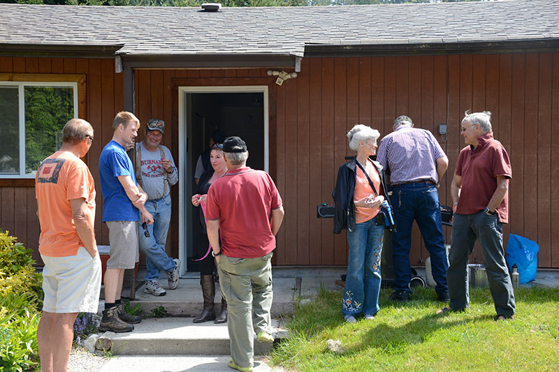 Sunshine, good food, and great people at the chapman creek hatchery volunteer recognition barbecue 2013